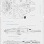 maxi-poster-star-wars-millennium-falcon-580×873