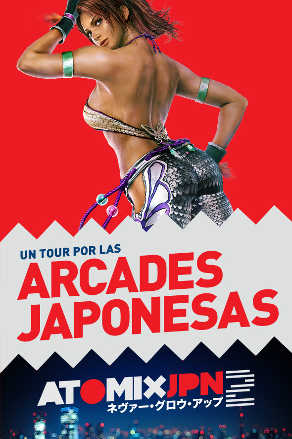 UN TOUR POR LAS ARCADES JAPONESAS #ATOMIXJPN2