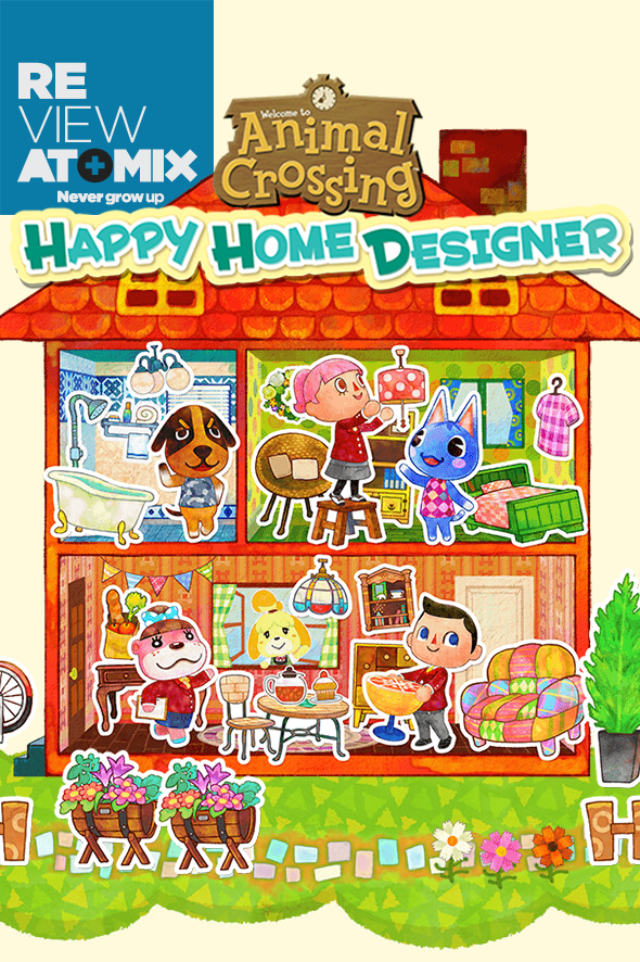 Review - Animal Crossing Happy Home Designer