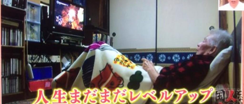 Japonés de 79 años disfruta de jugar Dark Souls II