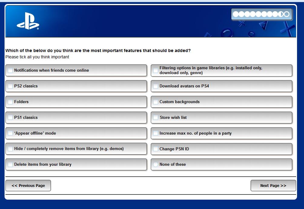 PS4_Survey