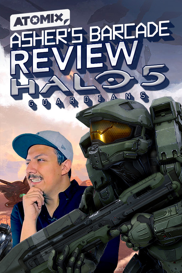 REVIEW HALO 5: GUARDIANS – ASHER'S BARCADE