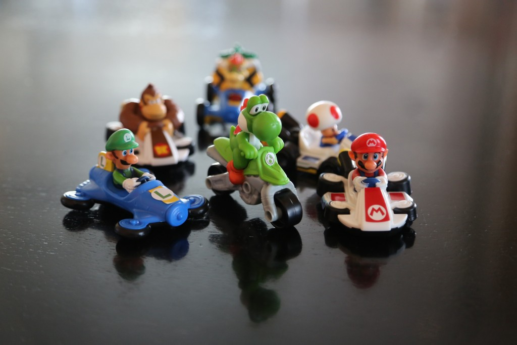 ¡Mario Kart 8 en la Cajita Feliz!