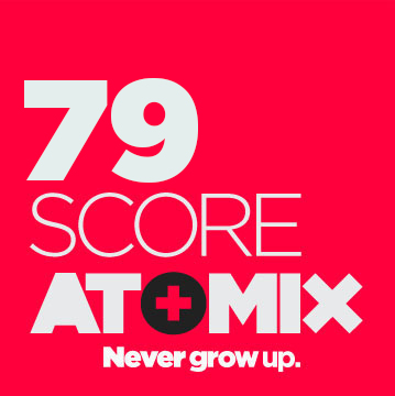calificacion score Atomix 79