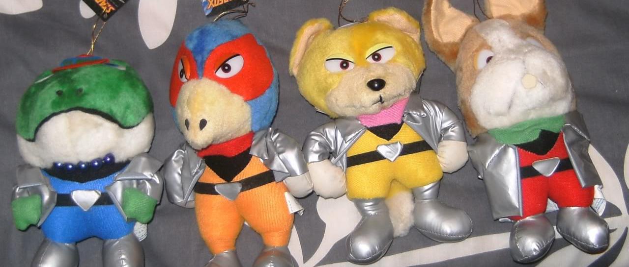 star-fox-plush-peluches