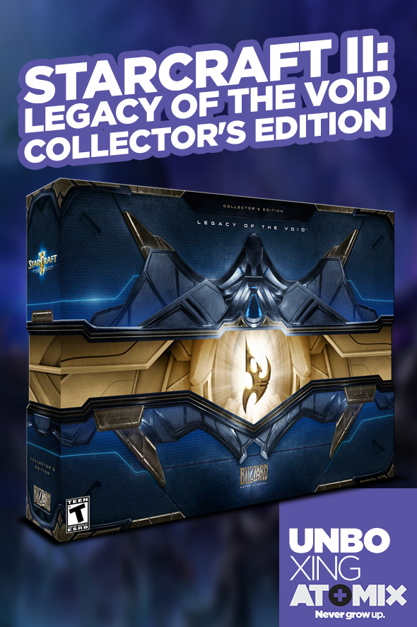 AtomixUnboxing_LegacyOfTheVoidCollectorseditionPoster
