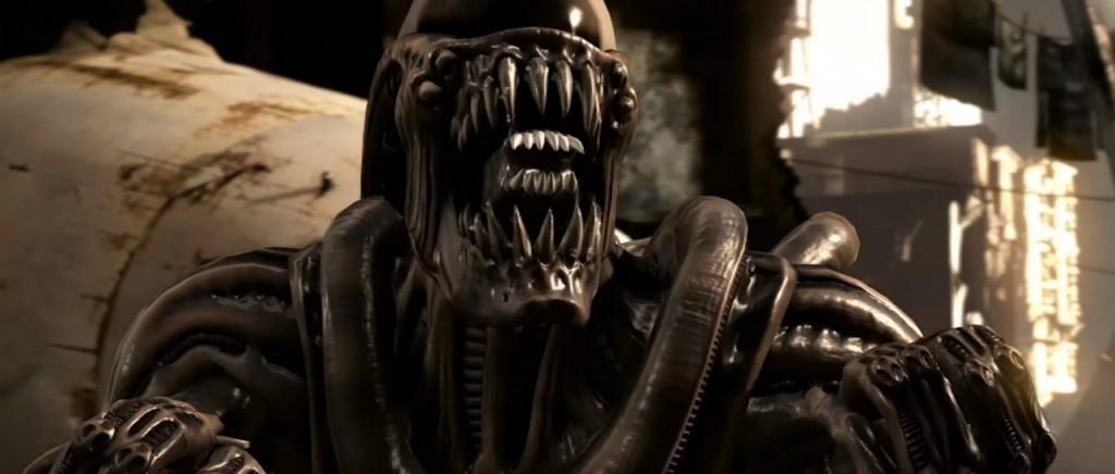 Así es como pelearán Alien y Leatherface en Mortal Kombat X
