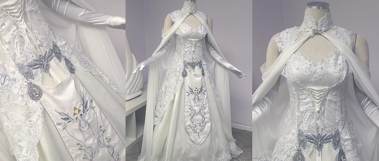 vestido de novia zelda