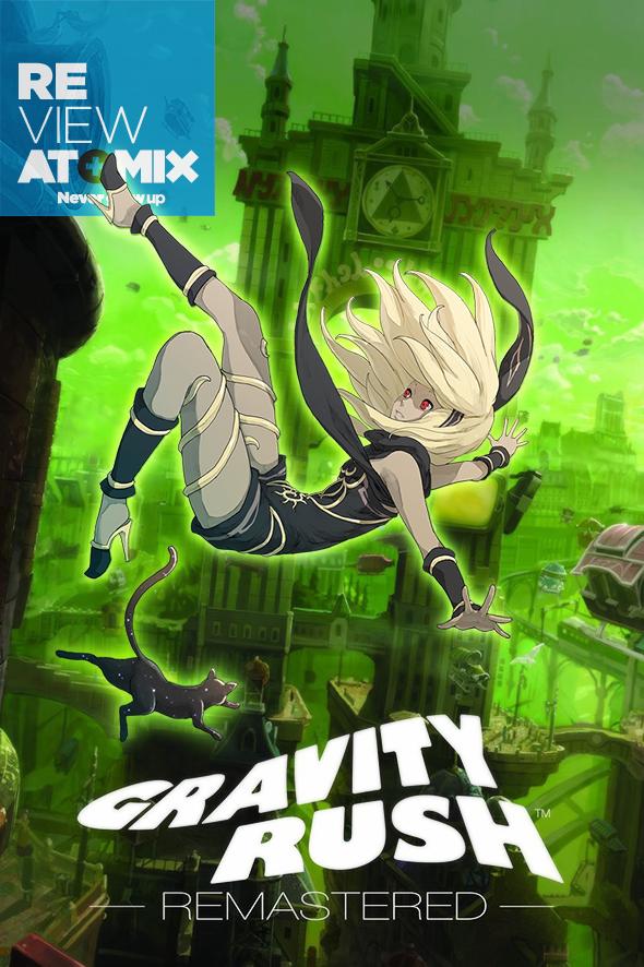 REVIEW - Gravity Rush Remastered