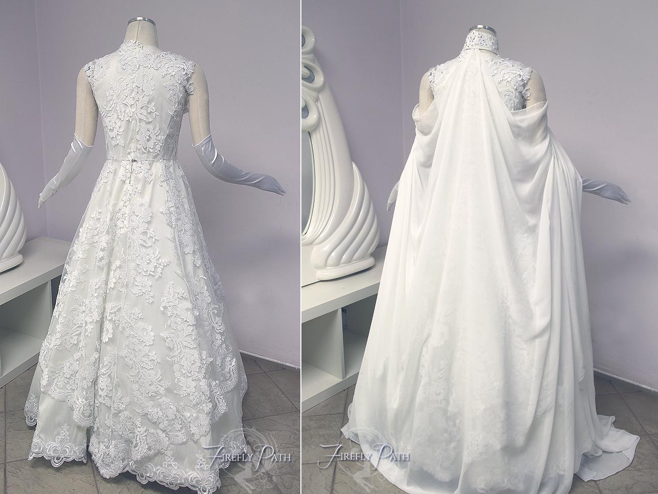 Vestido de novia de zelda