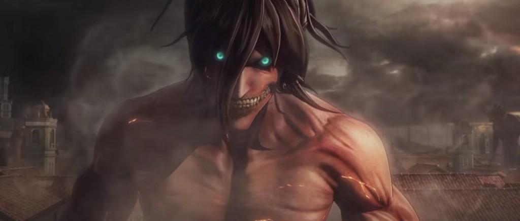El juego de Attack on Titan tiene un opening bien titánico
