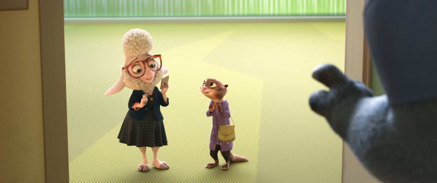 Zootopia-Bellwether-and-Mrs-Otterton