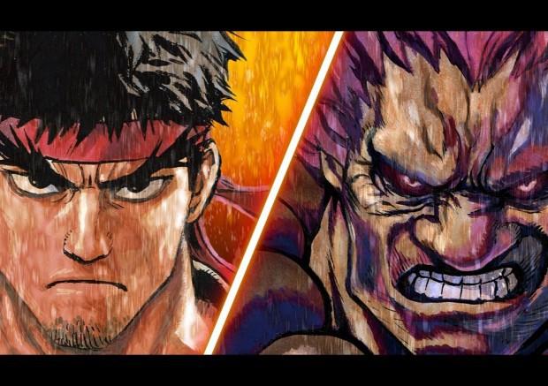 Ryu Vs Akuma Atomix