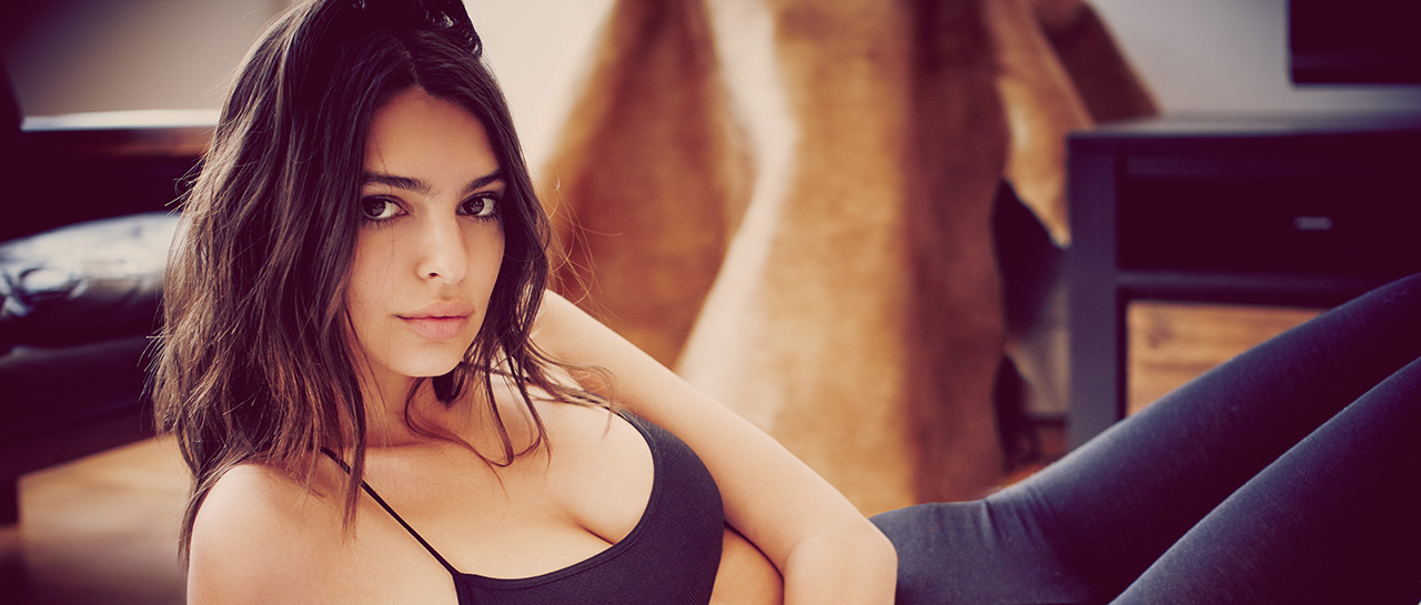 Emily Ratajkowski shows off an expanded intimates assortment for Free People. The brand introduces new styles including true boxer shorts and 8 new bramis- a cross between a cami and a bra with a cropped loose-fitting silhouette- alongside touches of true