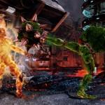 Rash in kick attack