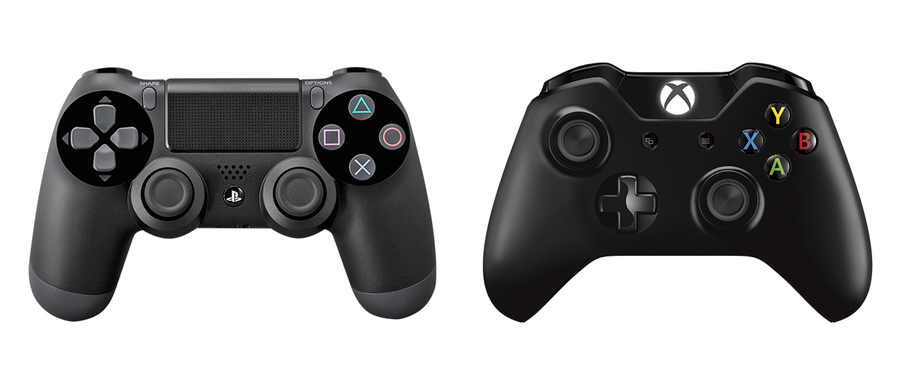 PS4_XboxOneControllers