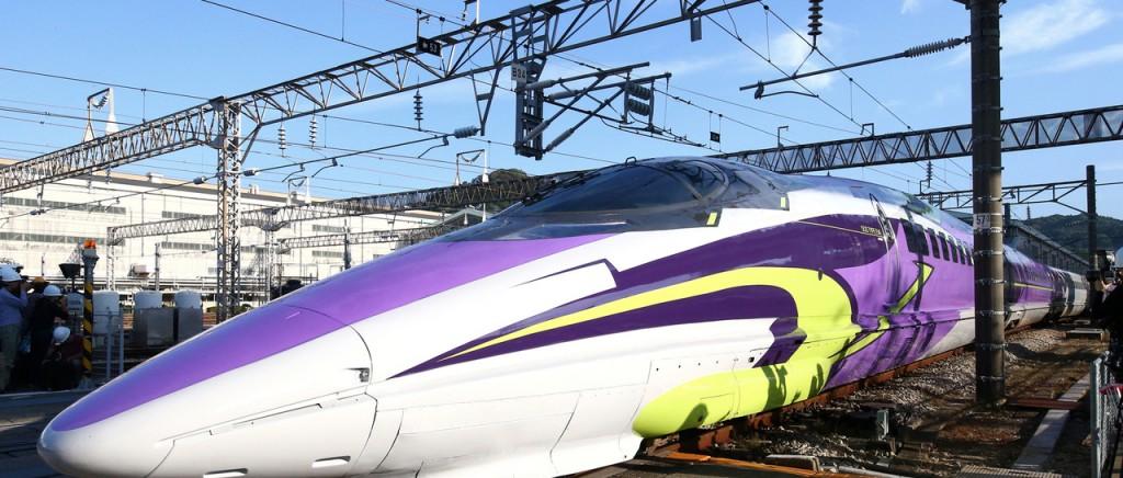 El Shinkansen de Evangelion con más promociones que nunca