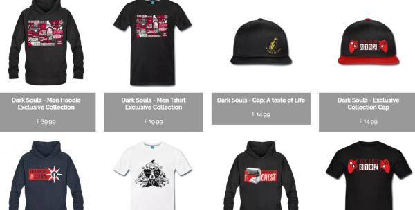 dark souls ropa
