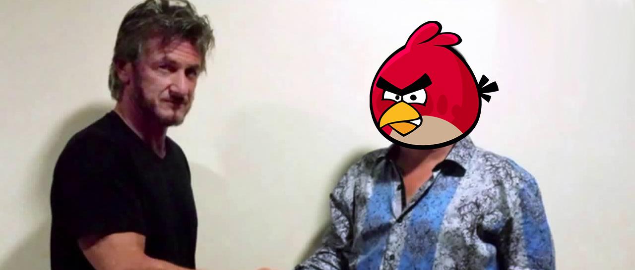 el chapo angry birds sean penn