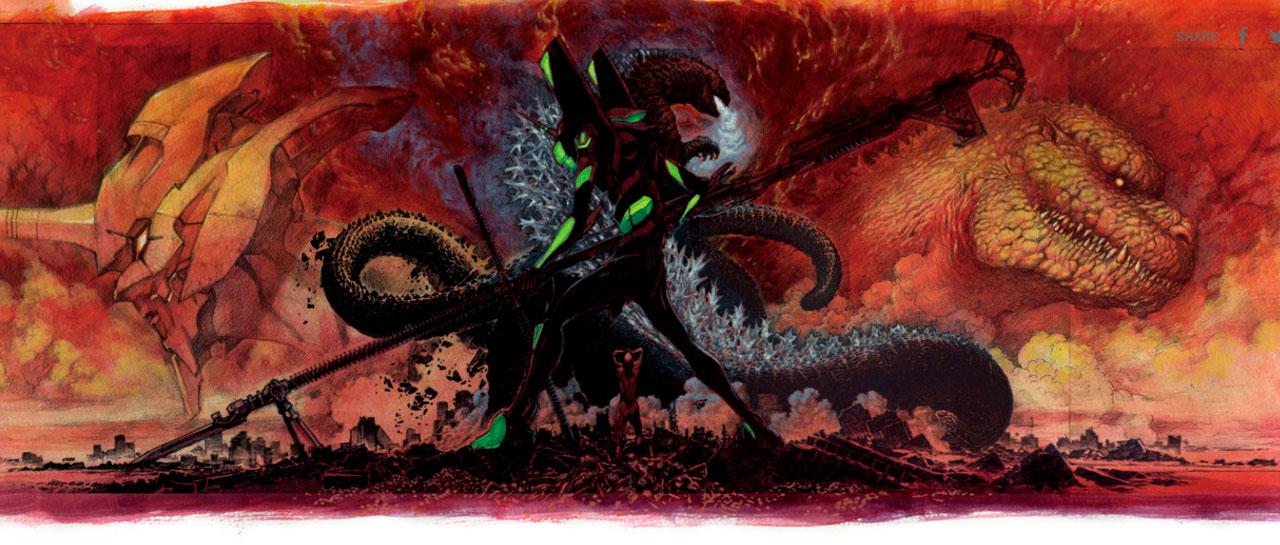 Godzilla x Evangelion ... 8f90dfc33c5d