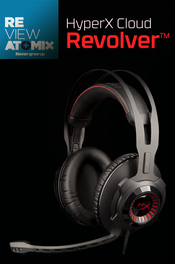REVIEW – HYPERX CLOUD REVOLVER