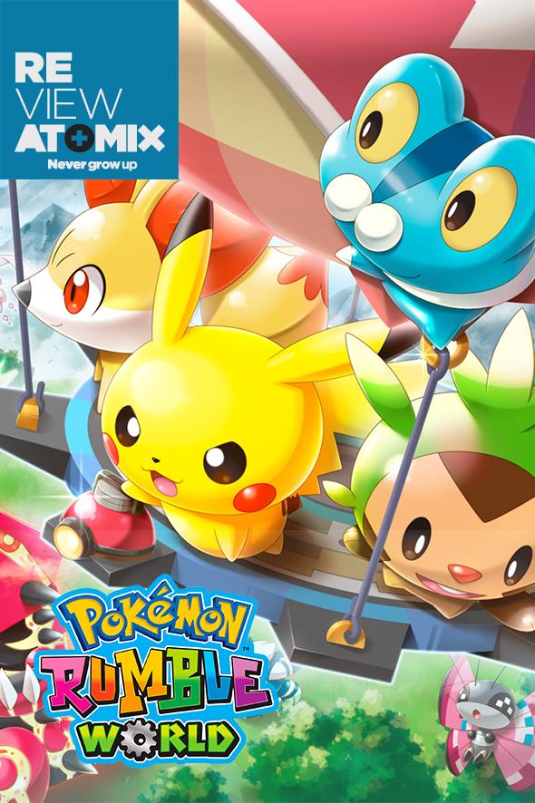 – Review Review Pokémon Rumble Pokémon WorldAtomix – Yf7gyb6v