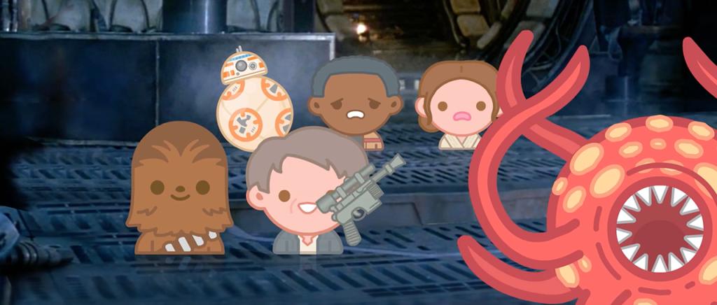 Mira Star Wars: The Force Awakens contada por Emojis
