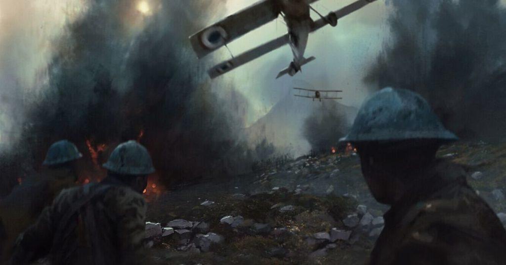 Mira un poco del arte de Battlefield 1