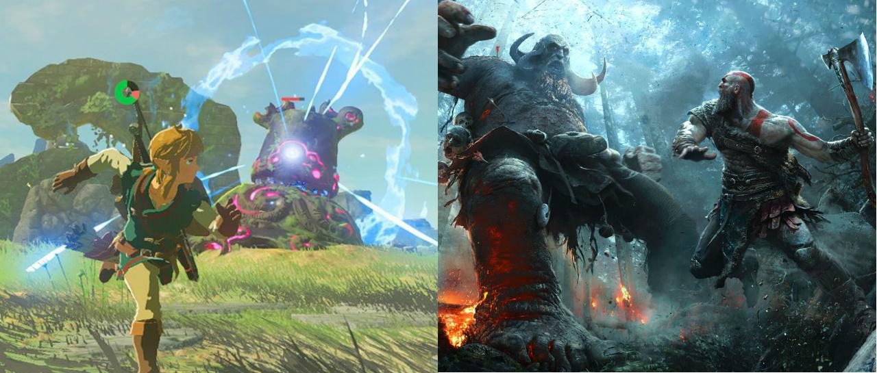 E3_ZeldaGodOfWar