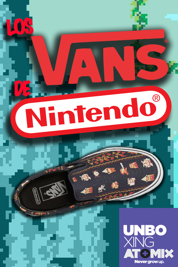 Unboxing - Los Vans de Nintendo