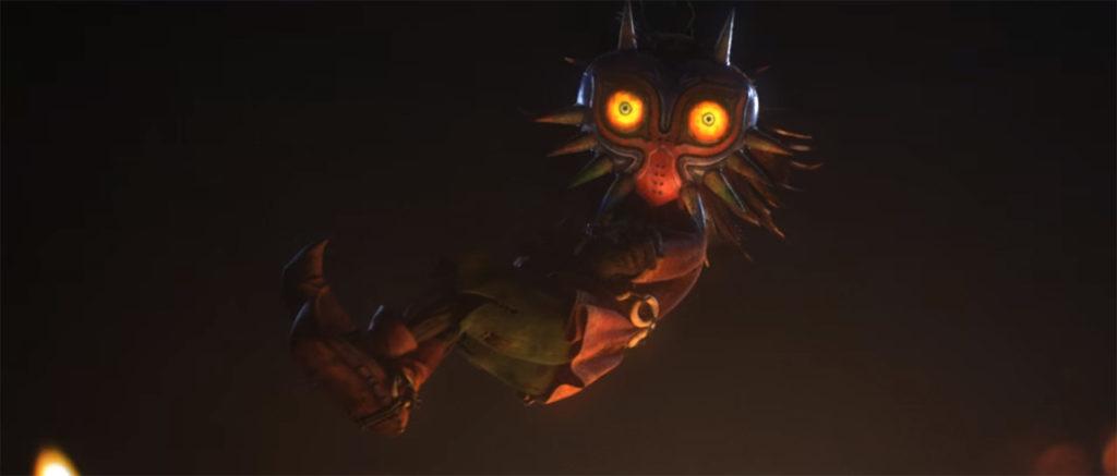 Así de increíble debería de verse una película animada de Majora's Mask