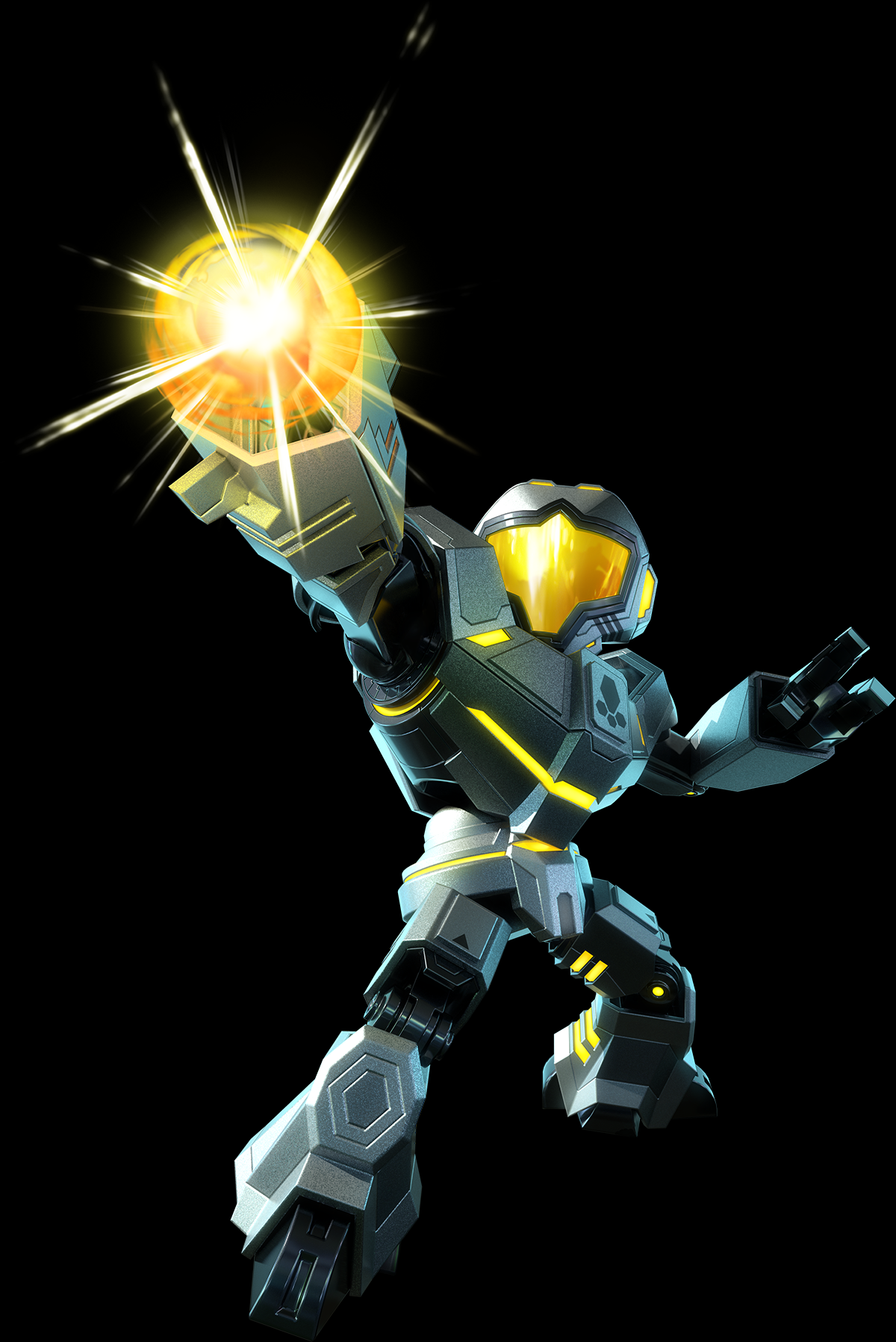 Metroid_Prime_Federation_Force_-_Yellow_Fed_Marine