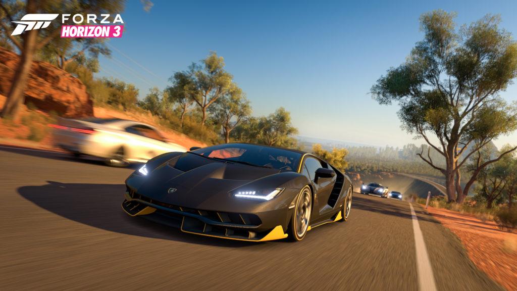 Forza Horizon 3 Lambo Dam Road