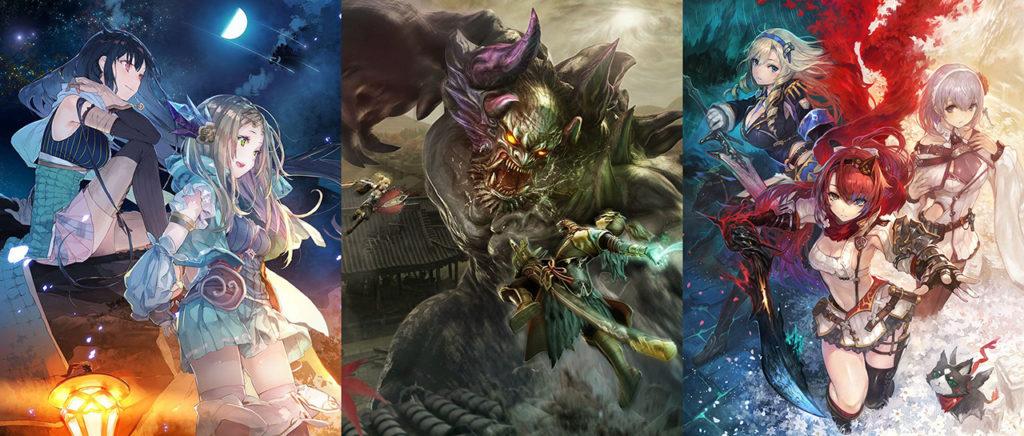 Nights of Azure 2, Atelier Firis, Toukiden 2 y más juegos de Koei sí llegarán a América