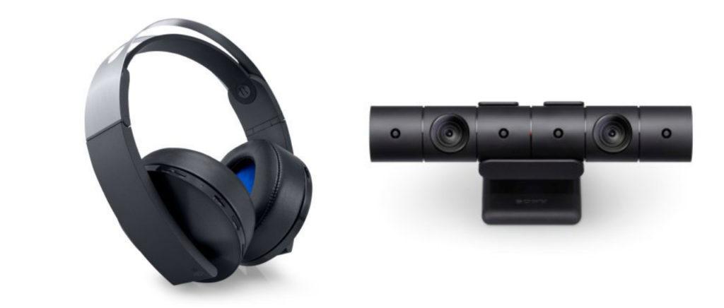También habrá un nuevo headset y cámara para el PS4