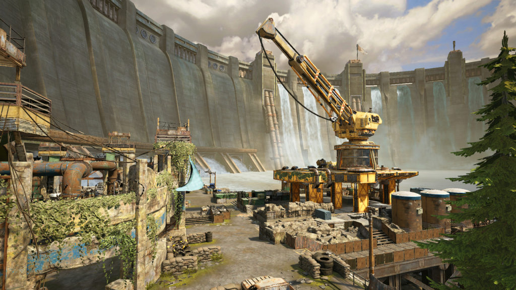 Multiplayer Dam Map