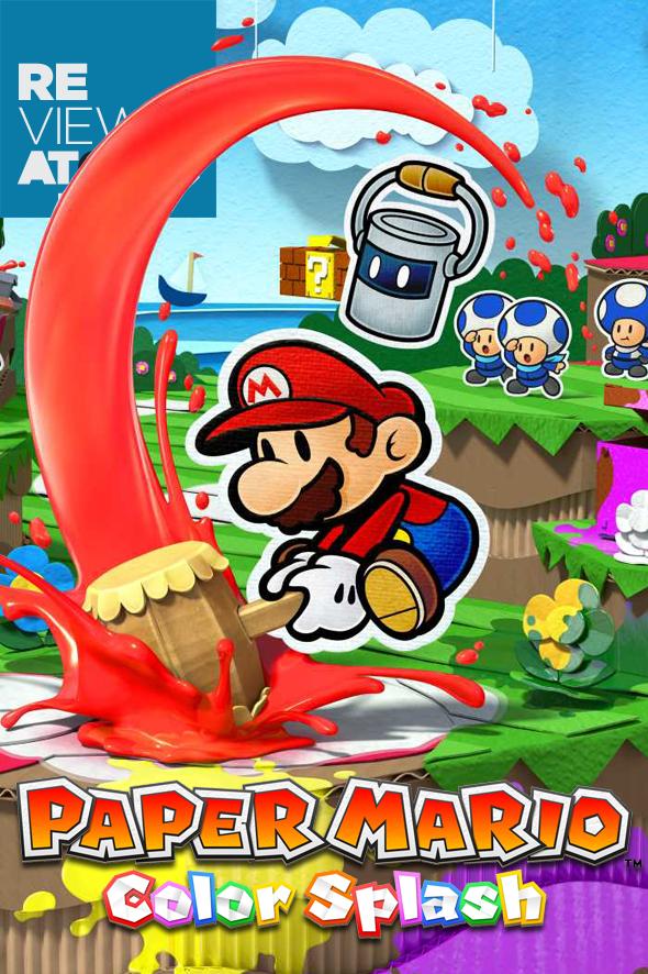 Review Paper Mario Color Splash