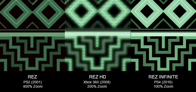 Rez.Infinite.3TextureComparison