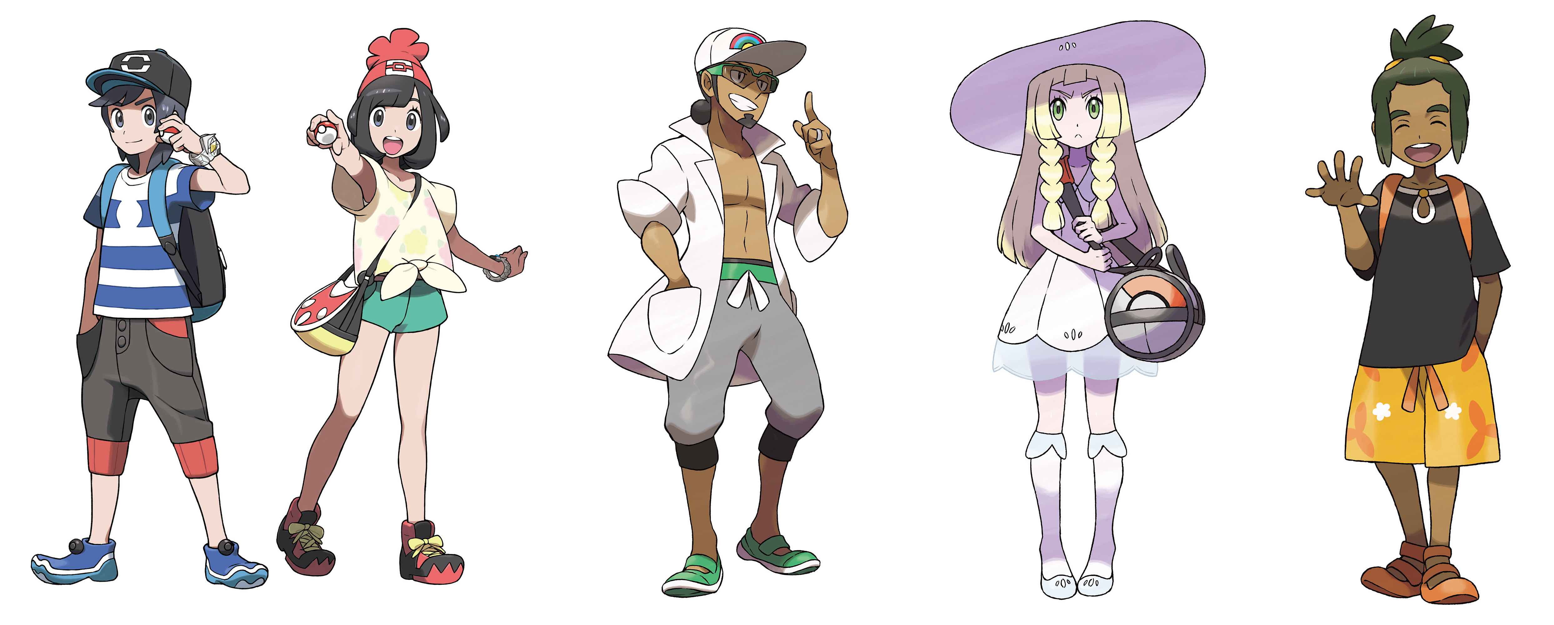 Pokemon-Sun-and-Moon-Character-Art