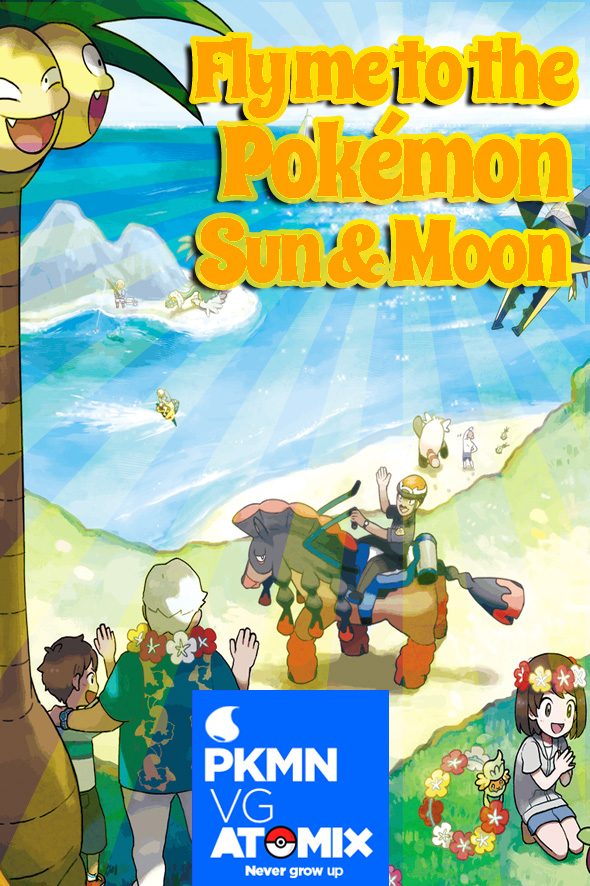 how to fly to the league sun and moon