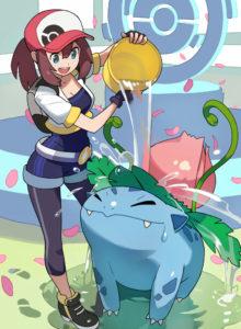 pokemon-trainer-ivysaur