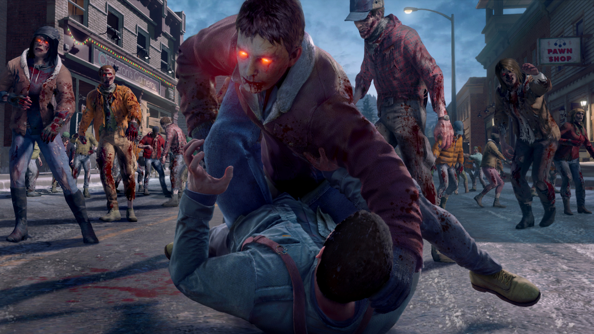 Dead Rising 4 Zombie Fresh Attack
