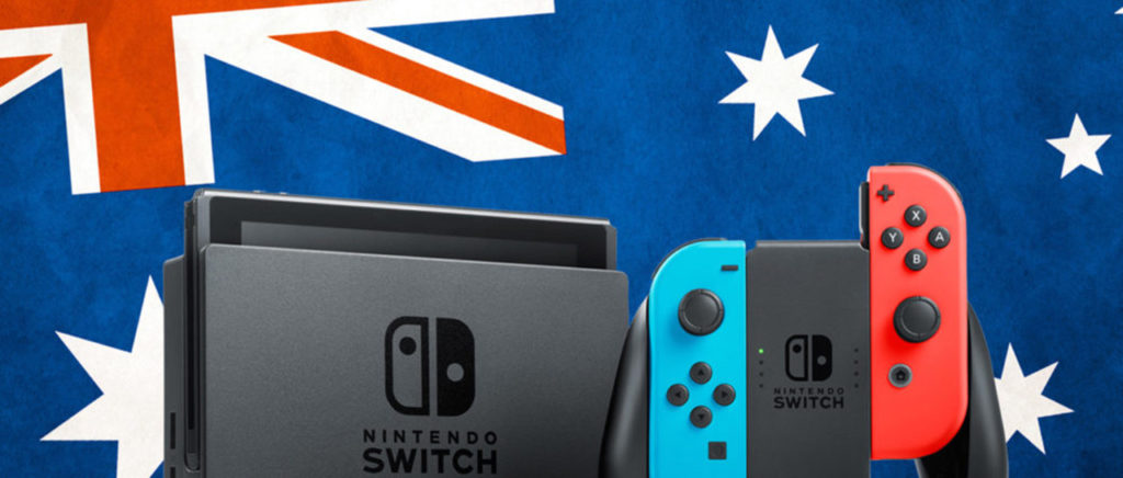 El Switch la rompió en las ventas de Australia, N. Zelanda y España