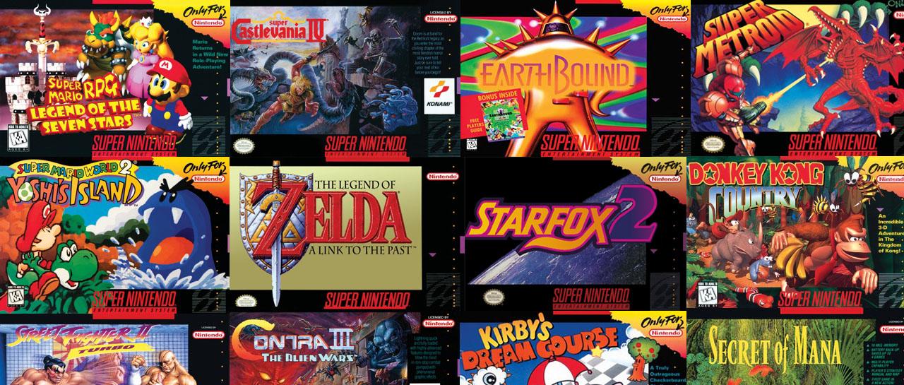 Super Nintendo Entertainment System Atomix