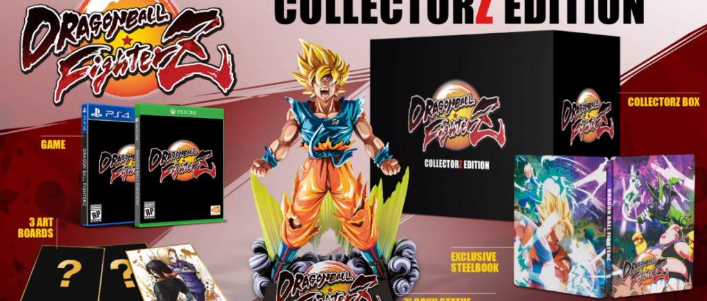 Dragon Ball FighterZ tendrá una poderosa edición de colección