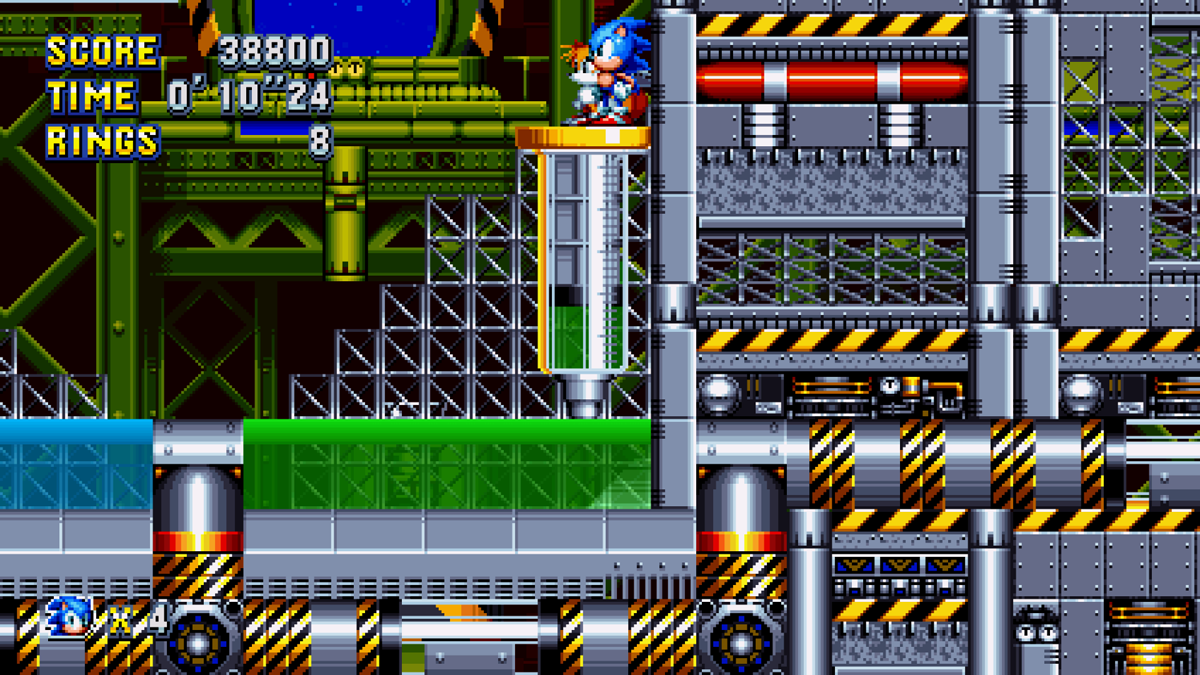 Review Sonic Mania Atomix