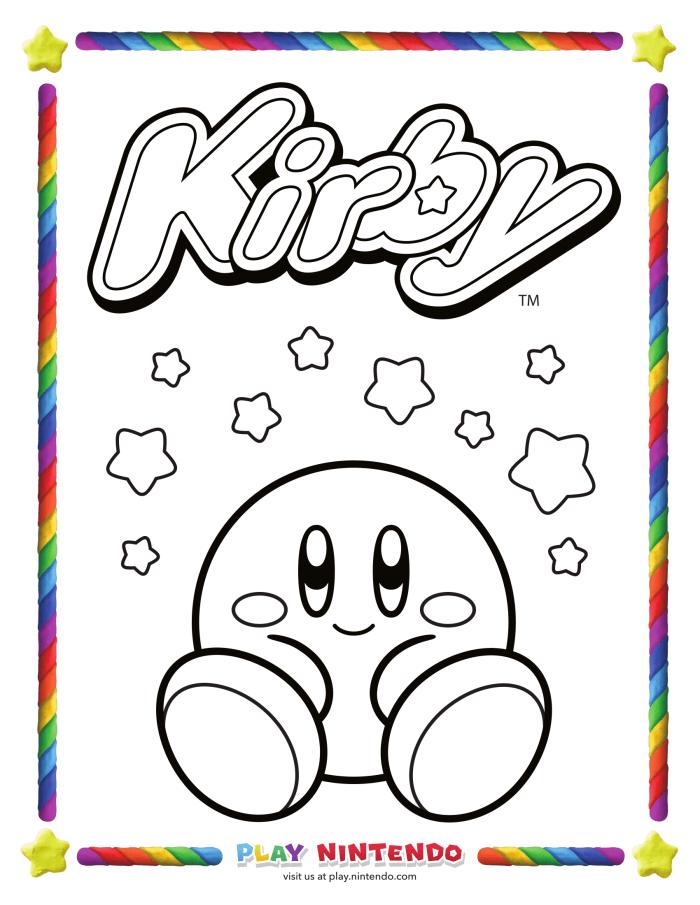 Imagenes Para Colorear Kirby - tongawale.com