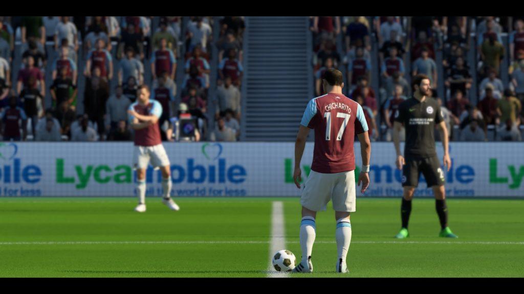 FIFA 18 El Trayecto 0-0 WHU - BHA, 1ª mitad