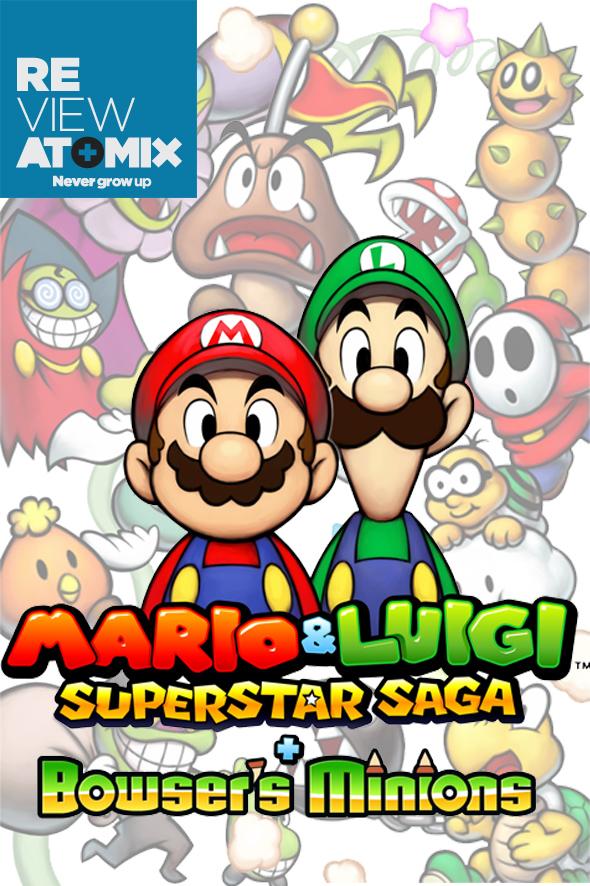 Review Mario Luigi Superstar Saga Bowser S Minions