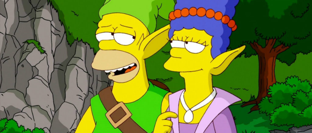 Los Simpsons rinden pequeño tributo a The Legend of Zelda